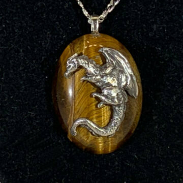Dragon Stone Sterling Silver