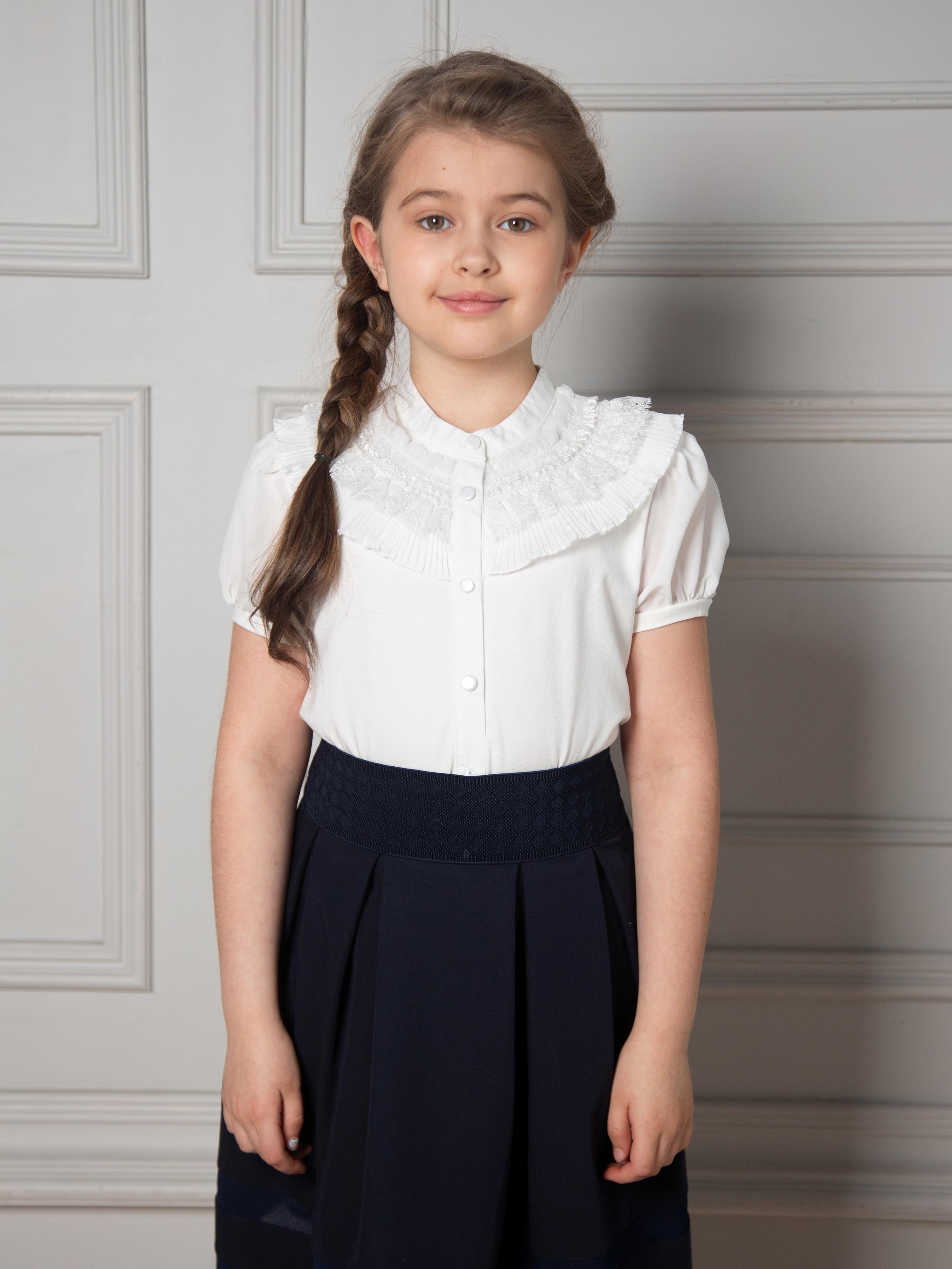 Блузка для девочки с короткими рукавами BHBS5267