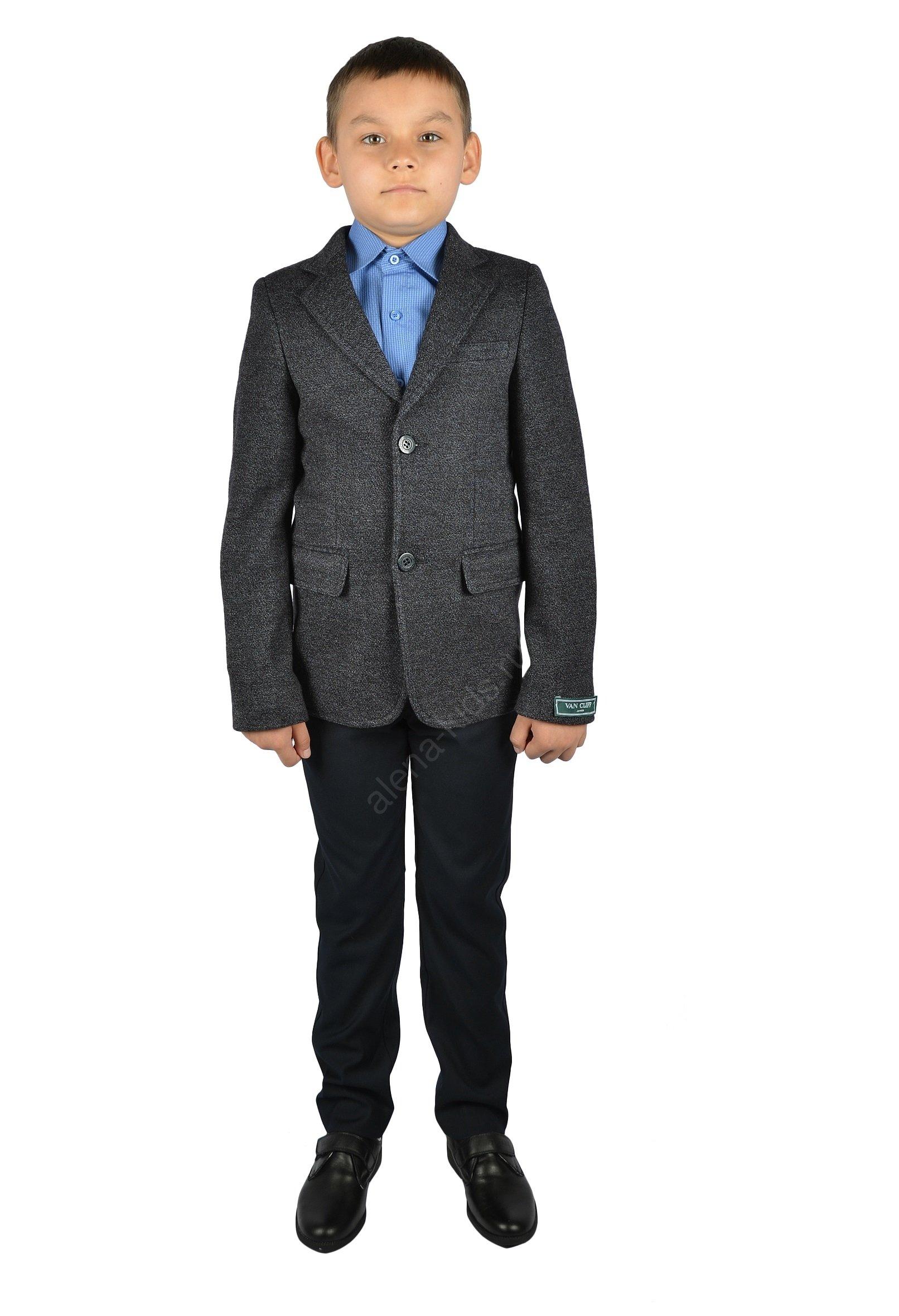 Пиджак для мальчика YSVC91023сер