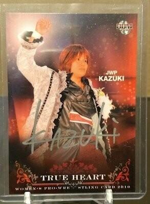 KAZUKI 2010 BBM Joshi True Heart Autograph /25