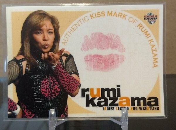 Rumi Kazama 2003 BBM Joshi True Heart Kiss Card /350