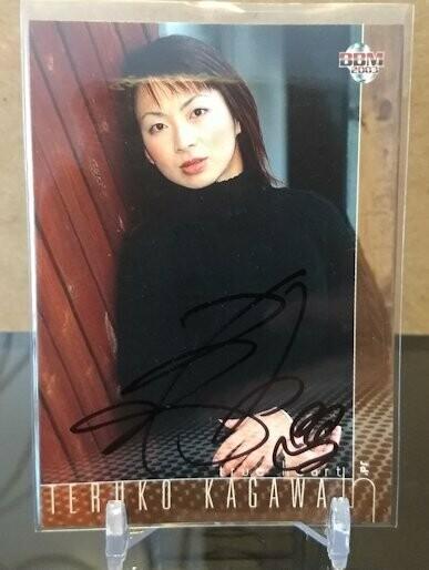 Teruko Kagawa 2003 BBM Joshi True Heart Autograph /113