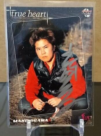 Mako Ogawa 2004 BBM Joshi True Heart Autograph /70