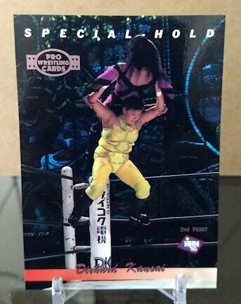 Dynamite Kansai Special Hold 1995 BBM Wrestling Base Card