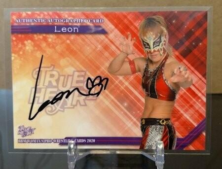 Leon 2020 BBM Joshi True Heart Autograph /97