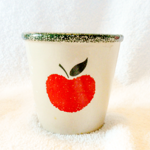 2.5 oz Soy Candle Apple Crock Container