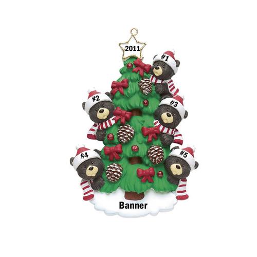Bear Tree Family of 5
