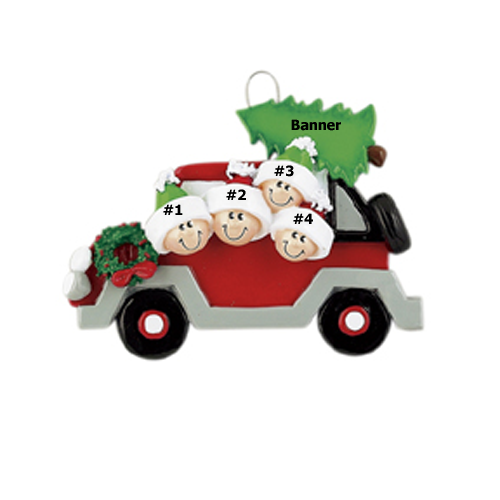 Christmas Caravan Family of 4