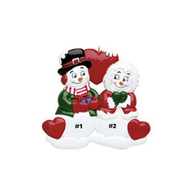 Snowman Sweethearts