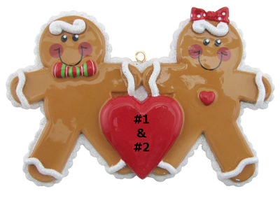 Gingerbread Cookie Couple