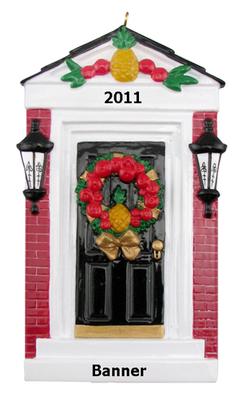 Pineapple Front Door