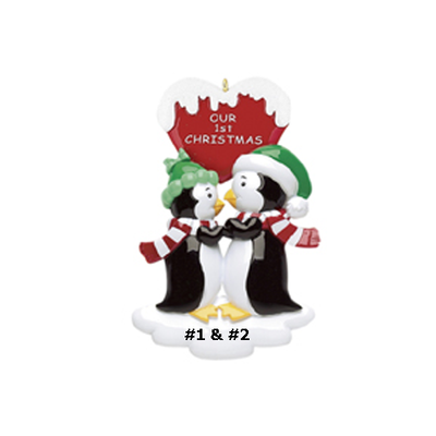 1st Christmas Penguins