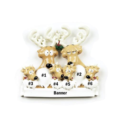 Reindeer Family of 6