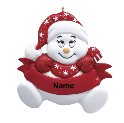 Red Snowman Baby