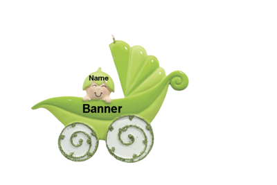 Peapod Baby Carriage