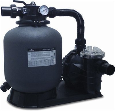 Pump & Sand Filter Set- For pool volumes up to 20m³