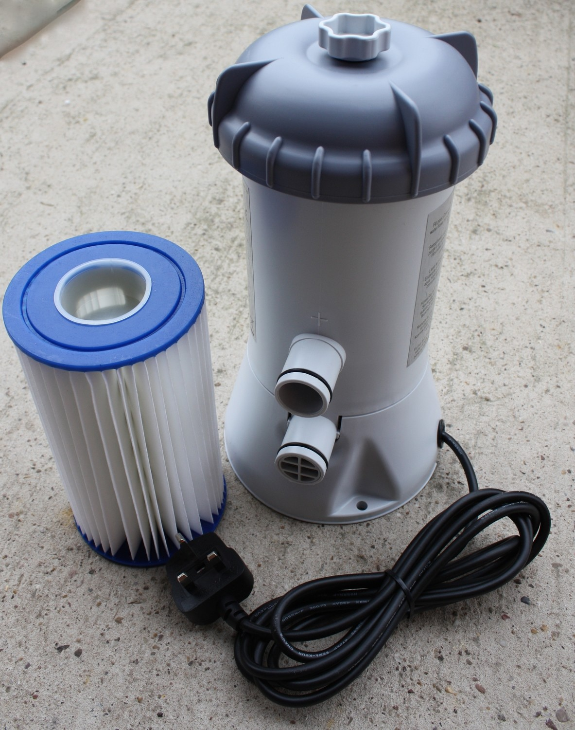 Cartridge Filter Pump 3m³/hr
