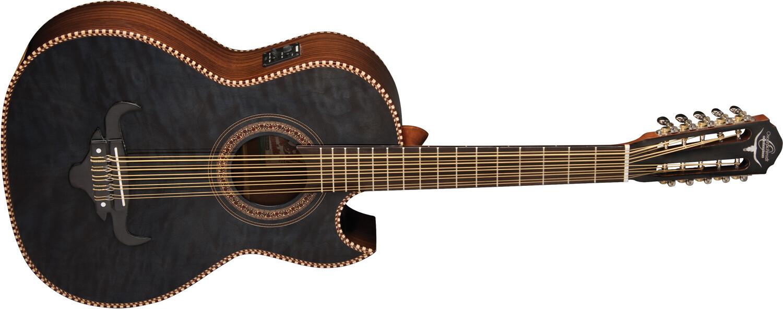 Bajo Quinto Guitar Oscar Schmidt Acoustic Electric