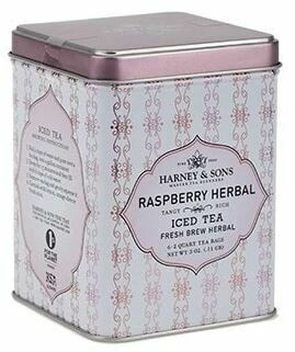 Raspberry Herbal Fresh Brew Iced Tea