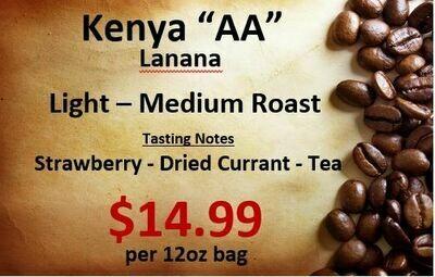 "Kenya ""AA"" Lanana"