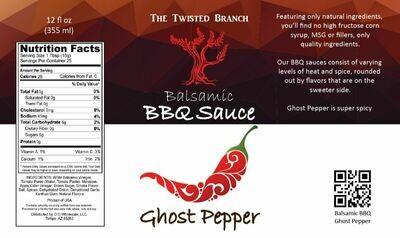 Balsamic BBQ Sauce - Ghost Pepper