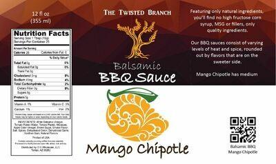 Balsamic BBQ Sauce - Mango Chipotle