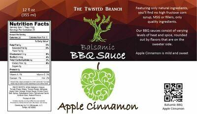 Balsamic BBQ Sauce - Apple Cinnamon