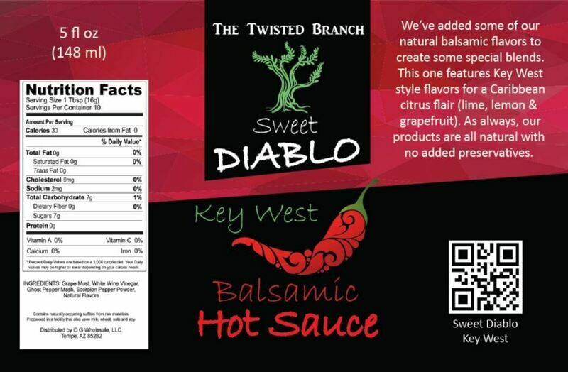 Balsamic Hot Sauce - Key West