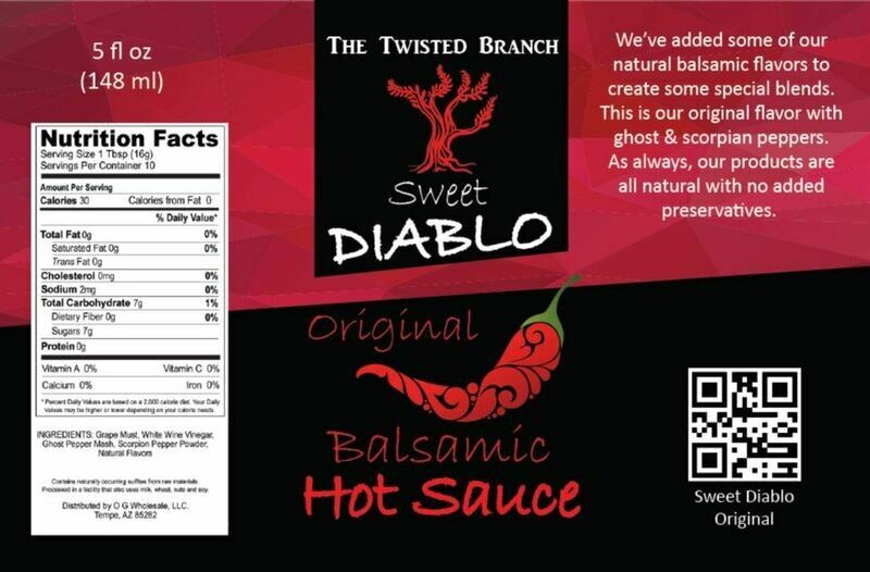 Balsamic Hot Sauce - Original