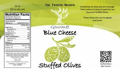 Stuffed Olives - Blue Cheese