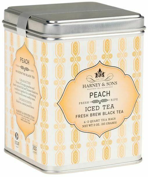 Peach Fresh Brew Iced Tea