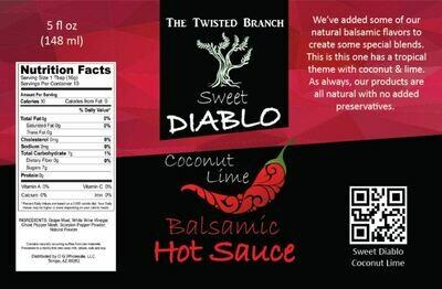 Balsamic Hot Sauce - Coconut Lime
