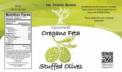 Stuffed Olives - Oregano Feta