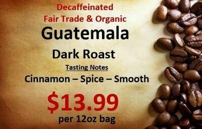Guatemala - Decaf - FTO