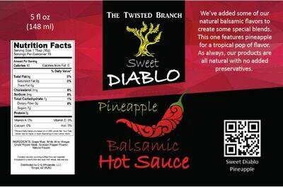 Balsamic Hot Sauce - Pineapple