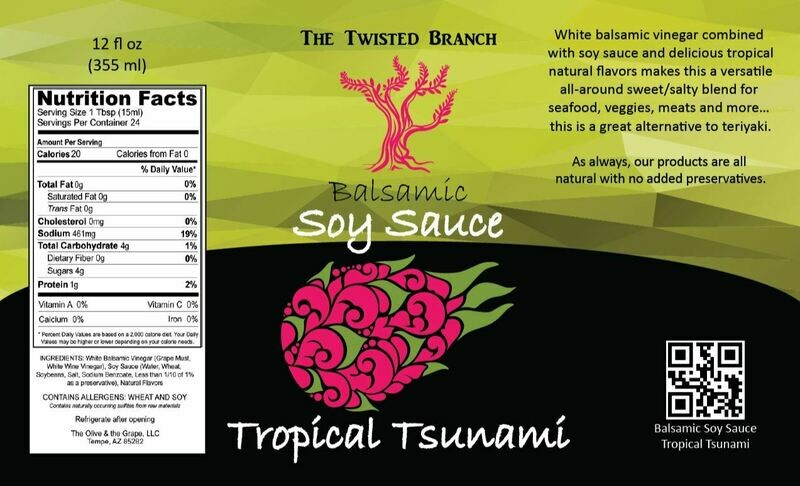 Balsamic Soy Sauce - Tropical