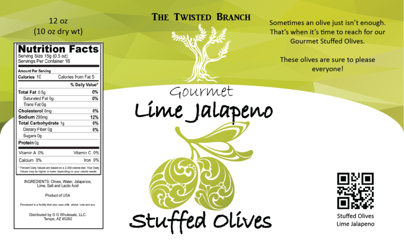Stuffed Olives - Lime Jalapeno