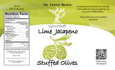 Stuffed Olives - Lime Jalapeno