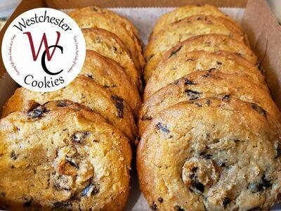 Large Chocolate Chunk Cookies 12 per Box