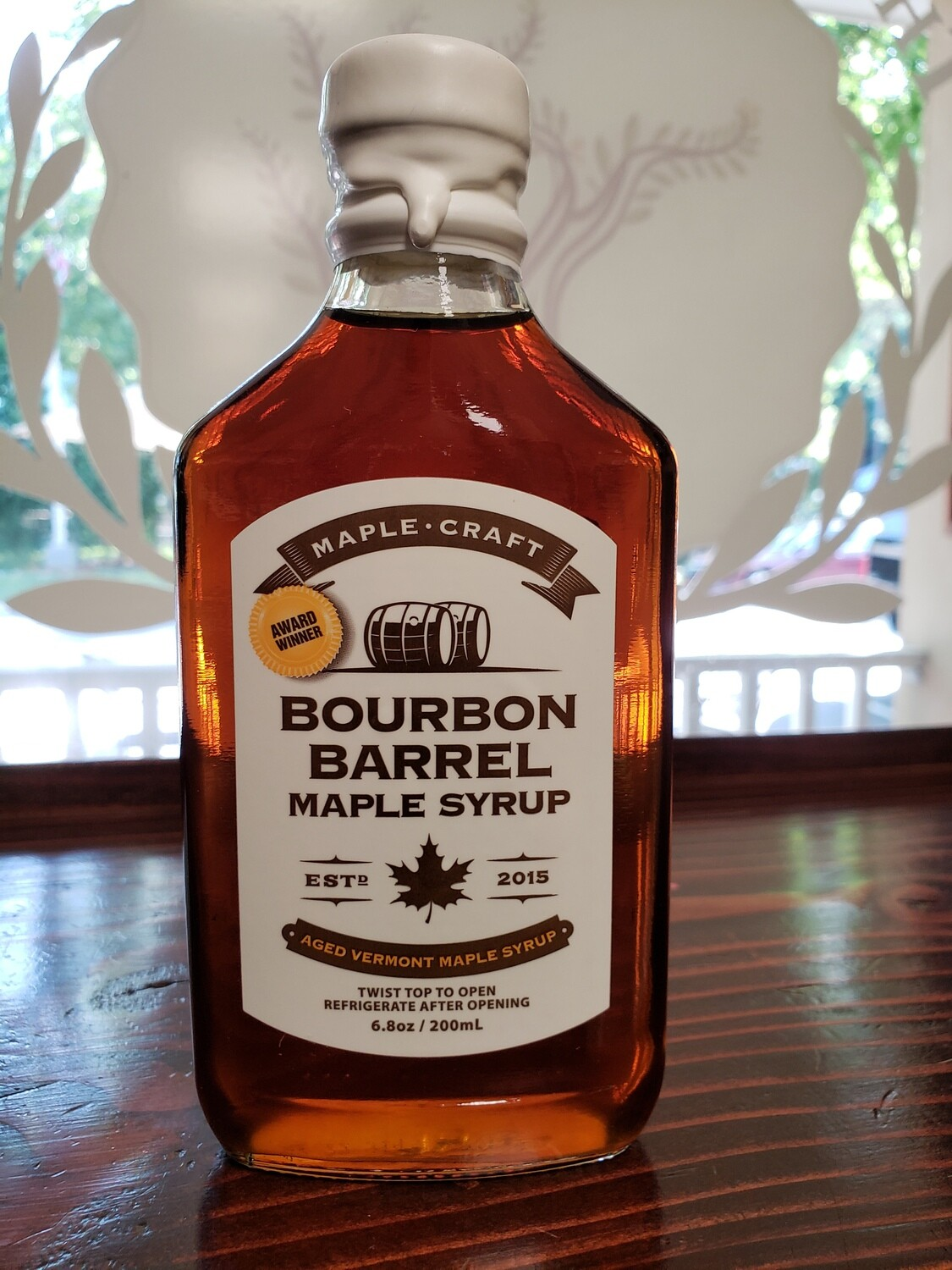Maple Syrup - Bourbon Barrel