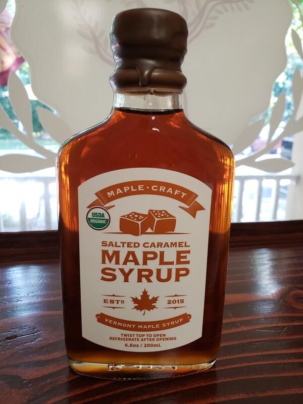 Maple Syrup - Salted Caramel (Organic)
