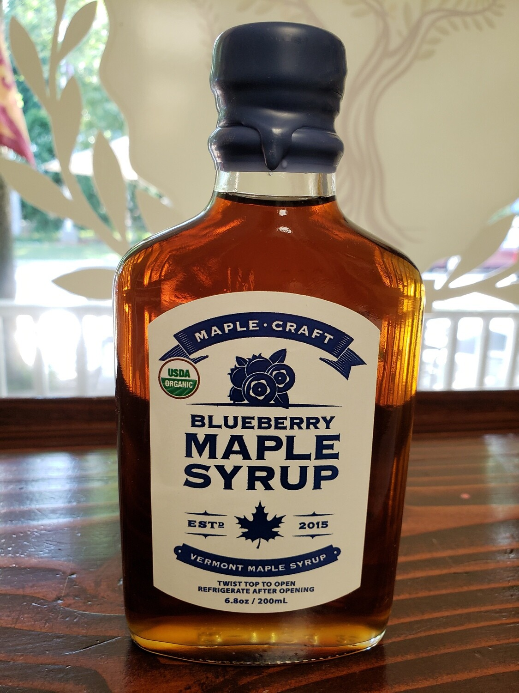 Maple Syrup - Blueberry (Organic)