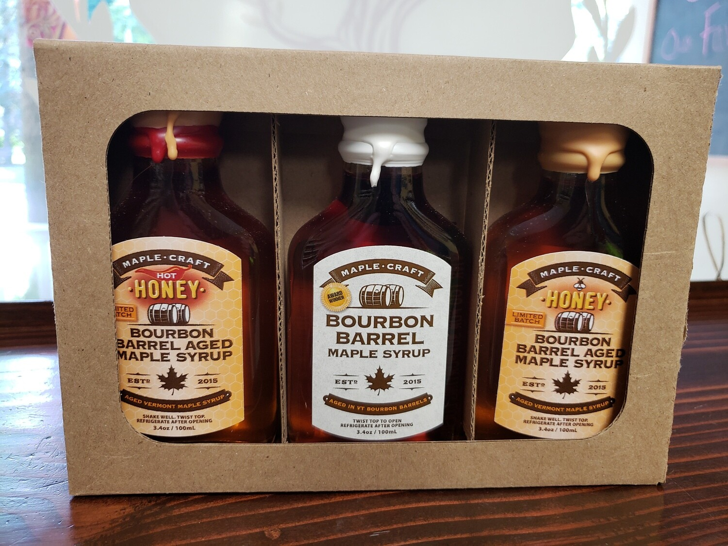 "Maple Syrup - ""Bourbon Barrel Bliss"" Sample Pack"