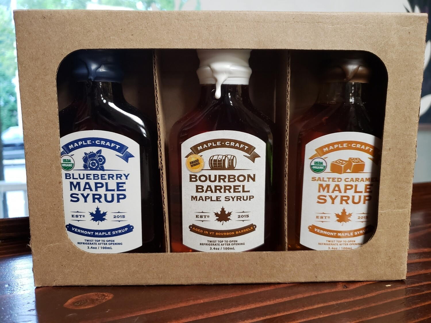 "Maple Syrup - ""Year Round"" Sample Pack"