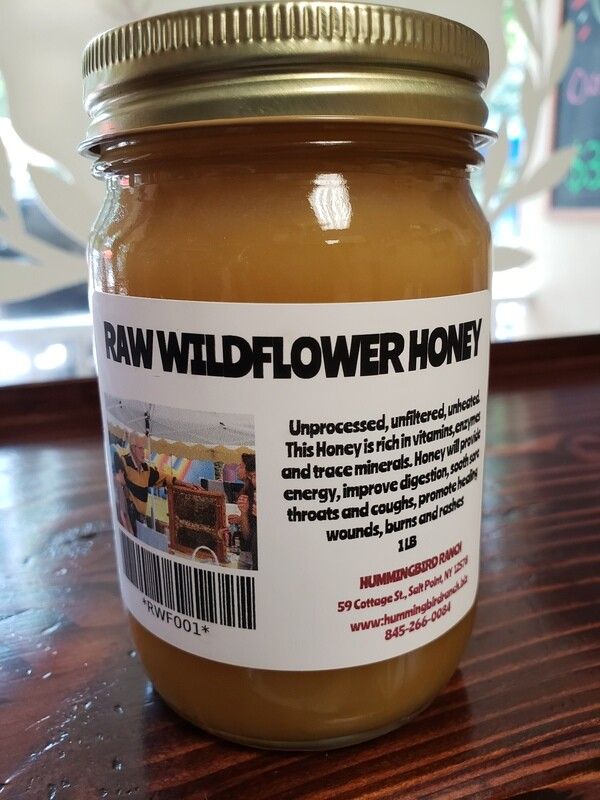 Local Raw Wildflower Honey - 1 lb