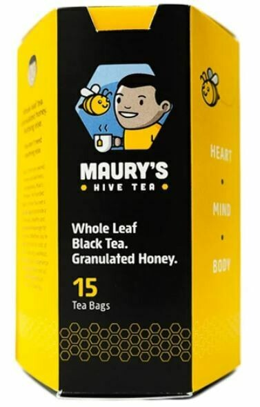 Maury's Black Buzz Tea