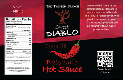 Balsamic Hot Sauce - Chipotle