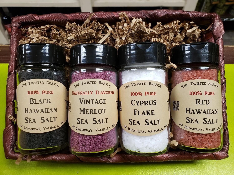 Spice & Sea Salt Sampler Basket