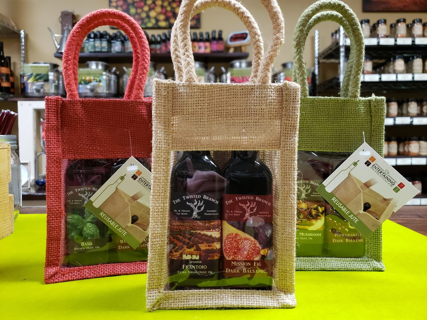 Burlap Sample Bag - 2 (100ml)