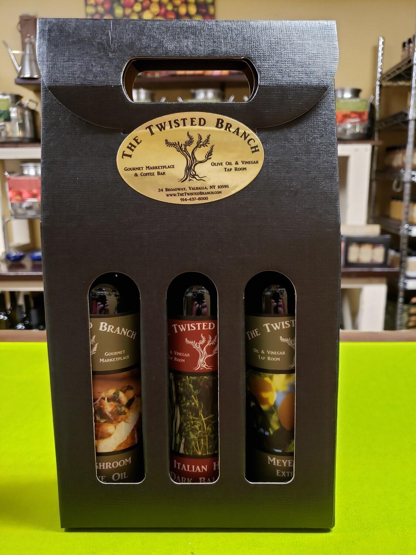 Oil & Vinegar Tote Gift Box - 3 (200ml)